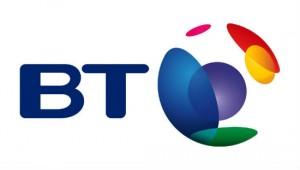 Het logo van British Telecom
